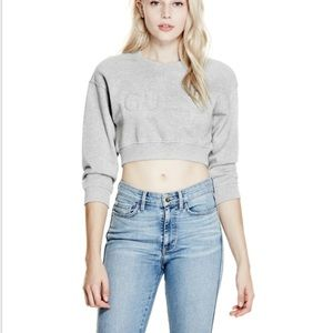 GUESS Original Crop Sweatshirt